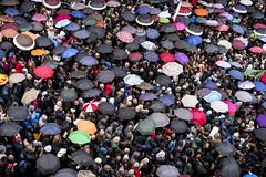 Vatican City Crowd (John Rowe Photo) Tags: italy dec2015 crowd crowds crowdofpeople vatican vaticancity pilgrims religious religion holydoor openingtheholydoor pope popefrancis stpetersbasilica jubileeyear jubileeofmercy