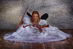 Violinista (Michael Blahout) Tags: frau weis violine
