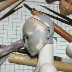 Narae60 N60S (bimong11) Tags: test face doll angle side bjd process bimong neferti n60s narae60