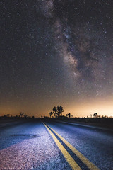 Milky Way Road (muhammad_elarbi) Tags: canon canonusa teamcanon canon70d 1635mm f28 ef eflens lens milkyway galaxy stars galactic center road street paint cars foreground light dark exposure longexposure astrophotography astronomy joshuatree nationalpark tree nature outdoor outside desert park texture space dirt beautiful colorful colors red blue oran orange yellow purple brown sharp usa live life fun hobby photography nebula