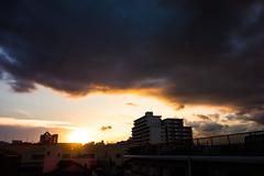Sunset (ademilo) Tags: sunset sky clouds sun sunshine
