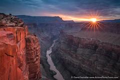 Light Sublime (David Swindler (ActionPhotoTours.com)) Tags: sunburst sunrise sunstar canyon clouds northrim grandcanyon arizona tuweap coloradoriver stormyskies toroweap