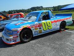 2004 Chevy Silverado Craftsman Truck (splattergraphics) Tags: 2004 chevy silverado pickup truck craftsmantruckseries nascar racetruck carshow tomlamonicamemorialcarshow parktonmd