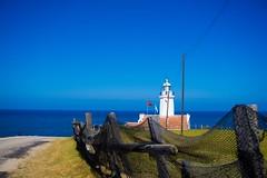 İnceburun lighthouse Sinop,Turkey (Furkan Kaan yüksek) Tags: bulut cloud sky gökyüzü sunshine günışığı sea deniz mavi blue green yeşil kuzey north lighthouse denizfeneri sinop turkiye türkiye turkey izmir