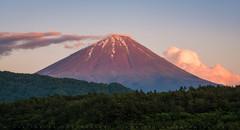 Mt Fuji From Lake Saiko (lestaylorphoto) Tags: japan fuji mountain volcano nature landscape travel saiko nikon d610 85mm leslie taylor lestaylorphoto