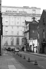Bolton Street (Towner Images) Tags: liverpool architecture architectural building construction city culture cityscape cultural design towner townerimages merseyside seaport england street streetscape boltonstreet adelphi hotel ypas bw mono monochrome greyscale monochromatic