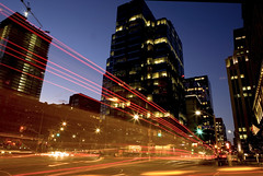 Night Toronto (klauslang99) Tags: city cityscape night streetphotography klauslang toronto canada bus lights traffic