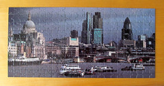 The City from Waterloo Bridge (pefkosmad) Tags: jigsaw puzzle hobby leisure pastime london panorama photograph city cityoflondon buildings architecture 207pieces complete largepieces galleryone g1com
