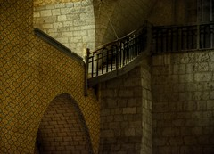Stairway (Tony Tooth) Tags: nikon d7100 nikkor 18105mm hdr saintpierre abbey moissac tarnetgaronne quercy cahors france stairs medieval church gothic atmospheric stairway staircase