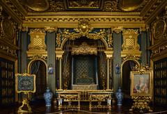 Royal lair (paulius.malinovskis) Tags: nikon summer sweden scandinavia drottningholm beautiful queen stockholm palace royal lair dark gold