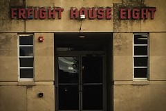 (245/366) Freight House Eight (CarusoPhoto) Tags: iphone 6 plus building industrial john caruso carusophoto photo day project 365 366 banal mundane ordinary everyday sign wall