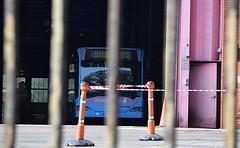 National Express Coventry garage - entrance (paulburr73) Tags: o530g citaro mercedesbenz bus coventry wt wheatleystreet garage depot nxc nationalexpress westmidlands midlands articulated bendibus mercedes august 2016 nxwm