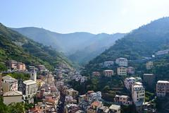 (ola_alexeeva) Tags: italy terre 5      cinque september sun  liguria  mountains riomaggore  colored riomaggiore