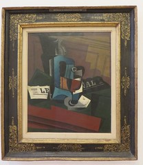 """Siphon, verre et journal"", Juan Gris (1887-1927), Muse Ludwig, Cologne, Rhnanie du Nord-Westphalie, Allemagne.Juan Gris (1887-1927), (byb64) Tags: museludwig peterludwig museumludwig cologne kln colonia rhnaniedunordwestphalie nordrheinwestfalen northrhinewestphalia renaniadelnortewestfalia renaniasettentrionalevestfalia rhnanie rhineland rheinland renania ville allemagne deutschland germany germania alemania europe europa eu ue rfa nrw stadt ciudad town citta city muse museum museo artmoderne xxe 20th artcontemporain kubismus cubisme cubisn cubismo naturemorte stilllife stillleben bodegn naturamorta objets things cosas objetos juangris syphonverreetjournal siphon"