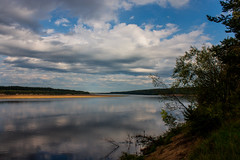 Вычегда в Алёшино