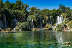 Kravice Falls (Jaume Costa) Tags: croatia hrvatska kravicefalls mostar bosnia lake waterfalls river water paradise swim nature natura paraiso parads aigua rio riu cascadas