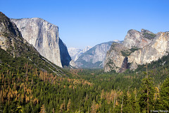Tunnel View (isaac.borrego) Tags: uploadedviaflickrqcom mountains peaks valley elcapitan halfdome tunnelview yosemitevalley sierranevada yosemite nationalpark california canonrebelt4i