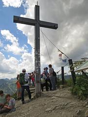 Walmendinger Horn (aniko e) Tags: walmendingerhorn kleinwalsertal vorarlberg austria allgu cross summit hiking trekking outdoors rocks
