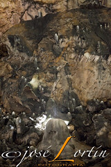 VALPORQUERO CAVE (JLuisOrtn (**Running Slow**)) Tags: cave vertical color noflash griwing stone stalagmite time valporquero leon spain nature splash silence gettyimages istock