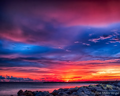 Purple Haze (DonMiller_ToGo) Tags: cloudsonfire cloudporn sunsetmadness sunsets nature goldenhour d5500 florida hdr seascapes fireinthesky rocks 3xp onawalk hdrphotography outdoors sunsetsniper jetty southjetty clouds sky