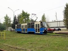 Konstal 105Na, #2, Tramwaje lskie (transport131) Tags: tram tramwaj t bdzin kzk gop konstal 105na