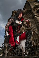 Ready to strike (Crones) Tags: canon 6d canoneos6d czech czechrepublic praha prague anime cosplay people portrait natsucon2016 canonef24105mmf4lisusm 24105mmf4lisusm 24105mm canonspeedlite580exii canonspeedlite 580exii