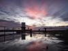 Harbour sunset (alf.branch) Tags: seaside sea sunset westcumbria water whitehaven refelections reflection whitehavenharbour clouds calmwater cumbria olympus olympusomdem5mkii zuiko ziuko918mmf4056ed