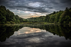 (Silverio Photography) Tags: canon 60d 24mm pancake primelens lake landscape reflection topaz adjust photoshop elements suburb massachuetts newengland nature color