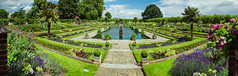 "Sunken Garden at Kensington Palace - London, England, 2016 [114 megapixels] (Photographie Alexi ""Alvin"" Dagher Photography) Tags: 2016 attraction beautiful blue britain british capital city clouds day destination england english european floral flowers fountains geometrical grass great greenery kensingtonpalacegardens landmark london natural oasis old outdoors palm panoramic paths peaceful pond pretty royalty sights sightseeing sky summer summertime sunkengarden sunny tourism tourist tranquil travel trees uk warm wild wildlife alexidagher"