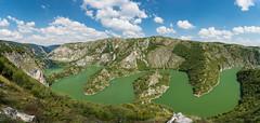 Uvac (Milos Golubovic) Tags: nature canyon serbia balkan uvac meandri panorama nikon d7100 landscape gorge clouds summer green srbija west zapadna pester paysage sigma 1770mm ngc view breathtaking colorado