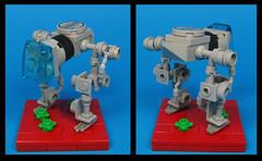 Clanker Class Walker (Karf Oohlu) Tags: lego moc microscale walker biped loper