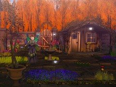 My beautiful garden (gwen.enchanted) Tags: maitreya catwa lumae swallow spoonfulofsugar deathrowdesigns ayashi hairology avatarbizarre love arte theskinnery remarkableoblivion aviglam