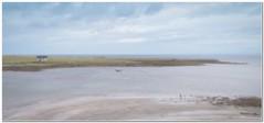 Pastel Beachcomber (Hugh Stanton) Tags: pastel beach appickoftheweek shoreline cottage estuary beachcomber