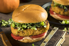 Homemade Pumpkin and Bean Burger (brent.hofacker) Tags: american appetizer appetizing autumn bake bread breakfast burger burgers cereal cooked decorated dinner edible egg food fried fritter gastronomy gourmet health healthy heap herb homemade light lunch meal pepper portion pumpkin pumpkinbeanburger pumpkinburger pumpkinhamburger quinoa rustic savory slice snack spinach squash summer toast vegan vegetable vegetarian wooden