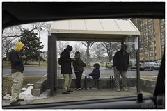 L1035019 (Kimberly Peery Sherman) Tags: m9p 3528e 160 56 1125 leica leicam9p summicron 8elements busstop052 people waiting