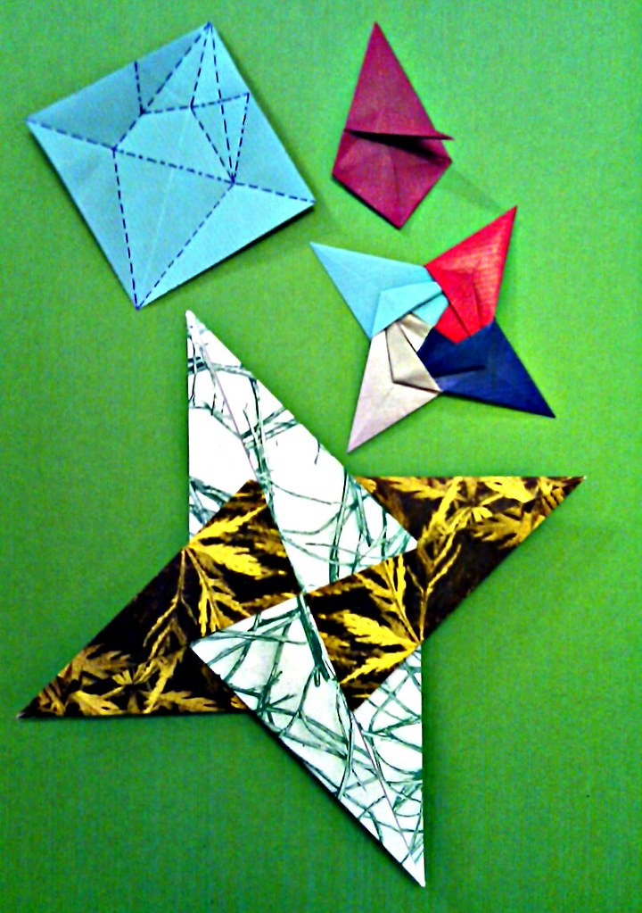 TD_9807] Diagrams For 8 Point Modular Star Origami Pinterest Free ... | 1023x720