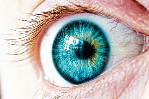 Eye (Kelly Love's Photography) blue iris eye photography photo eyes aqua flickraward
