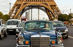 Traffic (Matilda Diamant) Tags: city urban paris france tower car french traffic capital transport eiffel rusalka