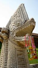 Naga, Wat Phra That Lampang Luang - Lampang, Thailand