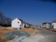 New home construction, in Ballenger Creek, Frederick County, Maryland, USA. (sebypires) Tags: county houses usa house building home creek real dc washington md construction bedroom community cookie estate metro suburban suburbia fast progress maryland neighborhood growth master commute area commuter suburb growing sprawl build residential rapid development cutter metropolitan frederick planned mcmansion suburbanization subdivision urbanization rapidly cdp mcmansions exurban urbanized exurb ballenger suburbanized