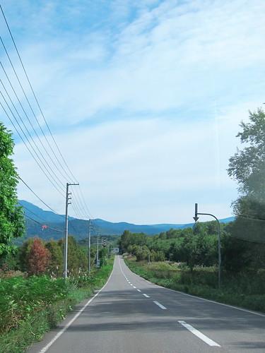旭岳への車窓