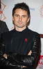 "Singer Matthew Bellamy of ""Muse"" The MTV EMA's 2012 held at Festhalle - arrivals Frankfurt, Germany"