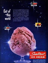 1951 Strawberry Sealtest Ice Cream (1950sUnlimited) Tags: food design desserts icecream 1950s packaging snacks 1960s dairy midcentury snackfood sealtest