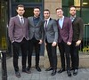 The Overtones Celebrities outside Today FM studios Dublin, Ireland
