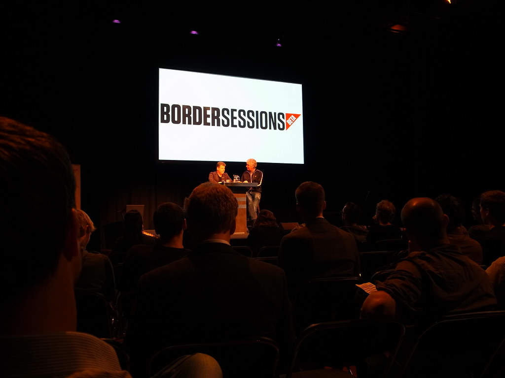 Bordersessions 2012: Erwin Blom interviews Andrew Keen