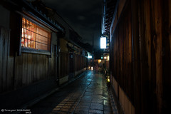Tradesmen's houses in Kyoto (Flickr collection by Getty images) (Yuripere) Tags: house window japan horizontal architecture night outdoors photography nopeople illuminated   gion   absence tiledfloor    kyotocity     kyotoprefecture  colourimage  lightingequipment builtstructure