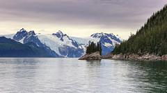 View above Harris Bay to Western Glacier (dieLeuchtturms) Tags: usa nature alaska america unitedstates natur northamerica amerika gletscher seward kenai stiched kenaifjordsnationalpark vereinigtestaaten nordamerika thelastfrontierstate