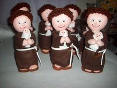 Santo Antonio (Elaine >Artesanatos<) Tags: feltro antonio santo religiosos