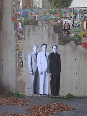 Bagnolet (Leo & Pipo) Tags: street urban streetart paris france art collage wall french leo paste pipo rue mur affiche bagnolet urbain leopipo