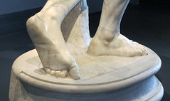 Myron, Discobolus, detail of feet